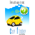 Parking Car Finder GE Gold icon