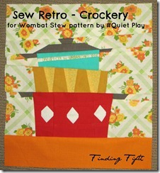 Fiona's Sew Retro Crockery