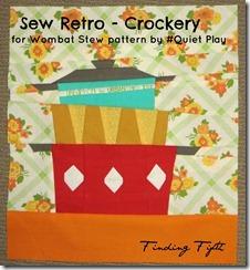 Fiona's Sew Retro Crockery