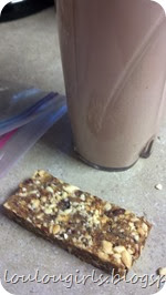homemade-lara-bar-with-chocolate-protein-shake