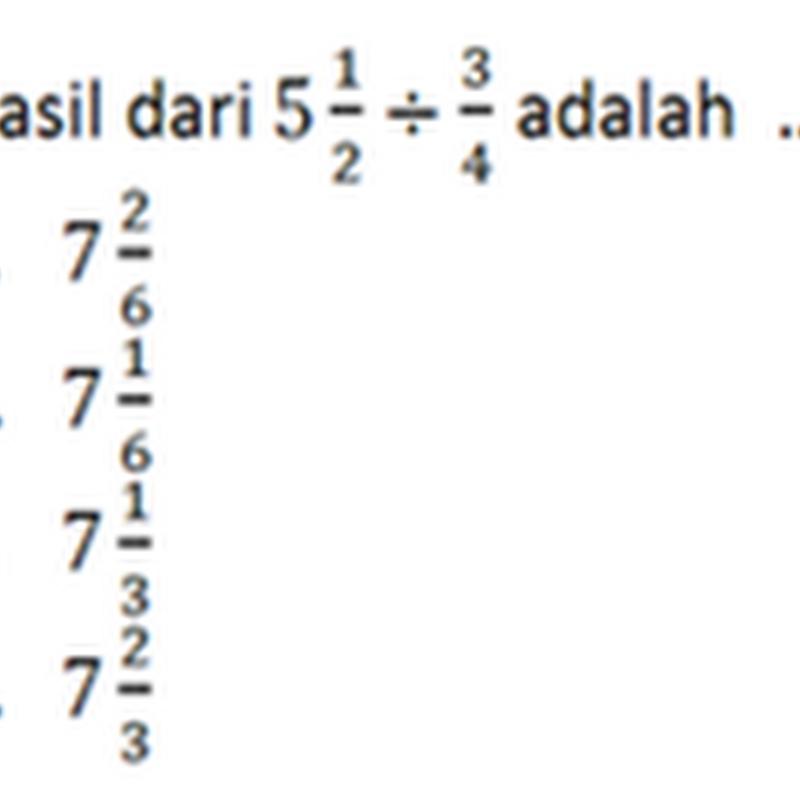 Prediksi Ujian Nasional Matematika Sd 2012 Paket 1 Coretan Kertas Sekolah