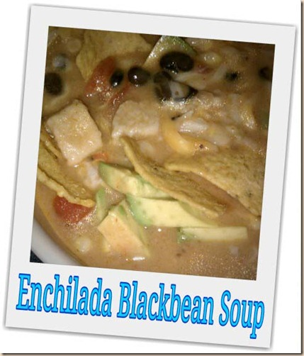 enchilada blackbean soup