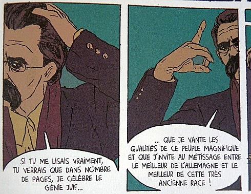Michel Onfray et Maximilien Le Roy. Nietzsche. Le Lombard, 2010.- Мишель Онфре и Максимилиан Ле Руа. Ницше