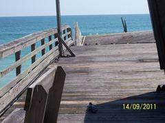 Pier damage