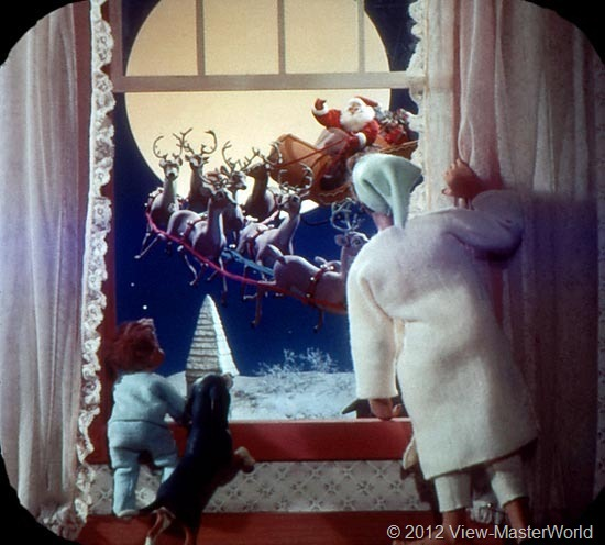 View-Master The Night Before Christmas (B382), Scene 7
