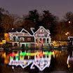 Holiday Lights at Boathouse Row
