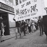 1984: Bayonne, manifestation de soutien aux grévistes de la soif de la cathedrale
