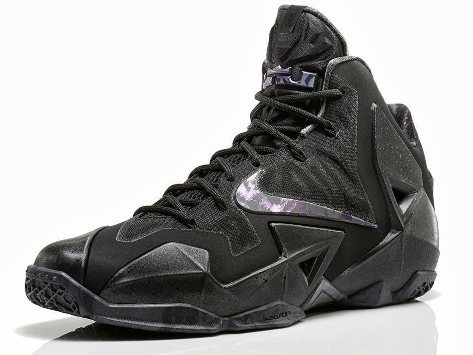 LeBron 11 Blackout Gets Sooner Release Date Drops this Saturday ...