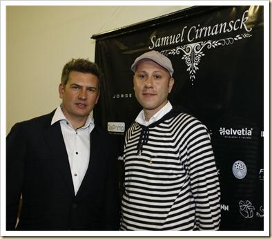Jorge Bischoff e Samuel Cirnansck