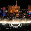 Amazing View of Bellagio Fountains water show