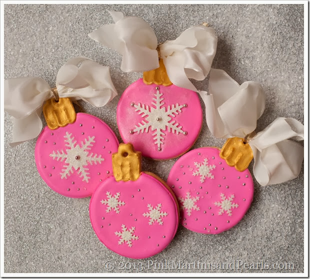 Decorated Ornament Cookies 5401