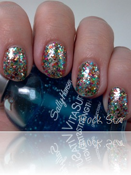 Sally Hansen Salon Effects in Frock Star 4