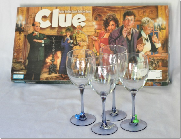 Clue Wine Glass Charms-1