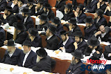 Yartzheit Tish For Stamar Rebbe Held In Satmar Beis Medrash Of Monsey (Photos by Moshe Lichtenstein) - IMG_5497.JPG