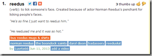 Reedus Urban Dictionary