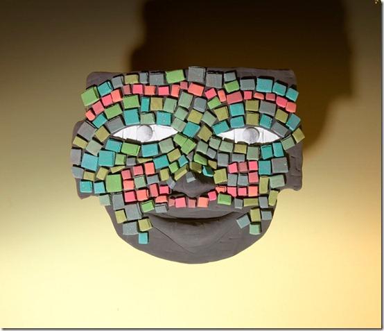 mascara azteca