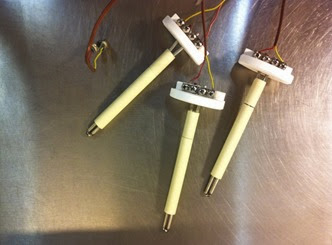 kiln thermocouples glazedOver pottery