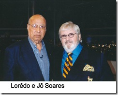 Loredao e Jô Soares