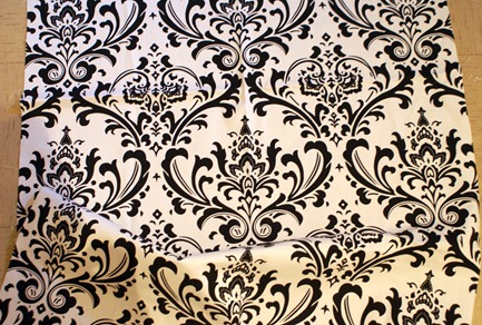 damask cushion fabric