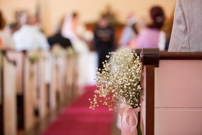 NH wedding flowers 40 babys breath aisle decor