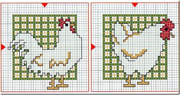 galinhas-ponto-cruz-grafico