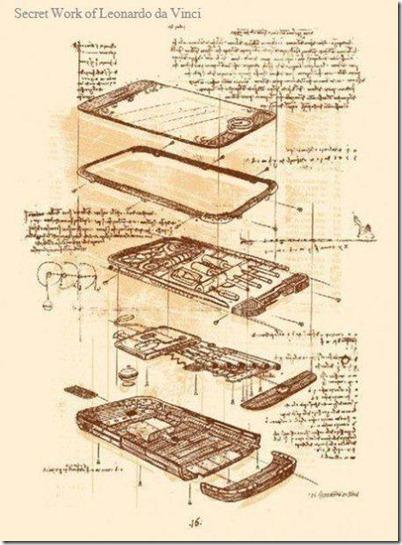 Iphone 4 Da Vinci