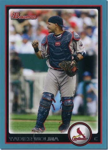 2010 Bowman Molina Blue 435 of 520
