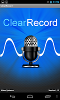 Screenshot of ClearRecord