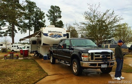 Shady Pines RV Park Texarkana TX 03212015