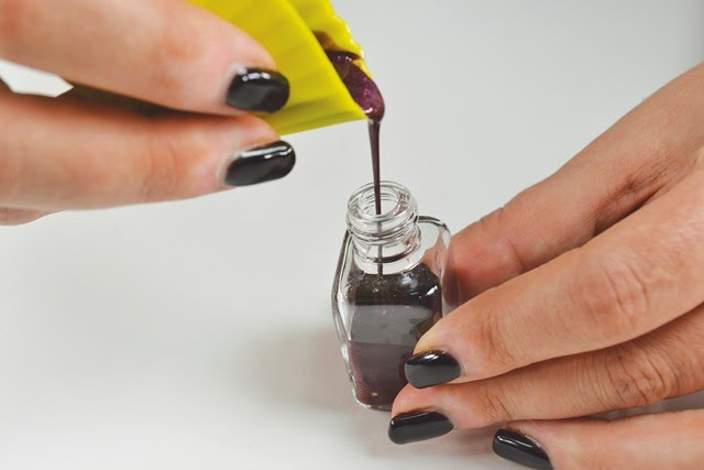 homemade nail polish