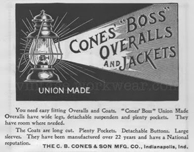 C. B. Cones advertisement, Indianapolis, IN, 1901