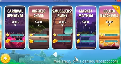 Free Download Angry Birds Rio v1.7.1 PC Game