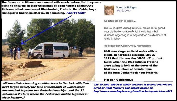 KLEINFONTEINdemocraticAllianceShowedUpInThousandsAtKleinfonteinProtestNOT