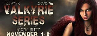 {Interview+Giveaway} the Valkyrie Series by T.G. Ayer