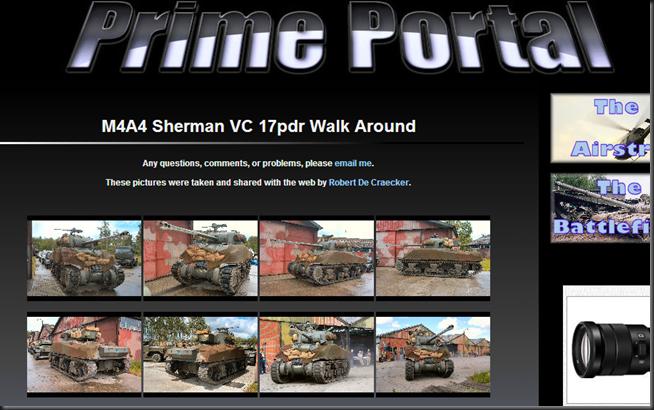 M4A4 Sherman VC 17pdr Walk Around
