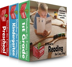 Reading the Easy Way BUNDLE [Preschool, Kindergarten, 1st Grade]