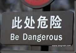 be-dangerous