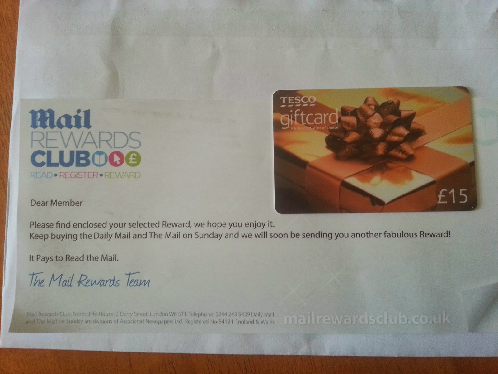Mail coupons uk