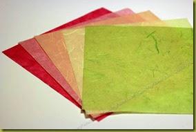 Тутовая бумага