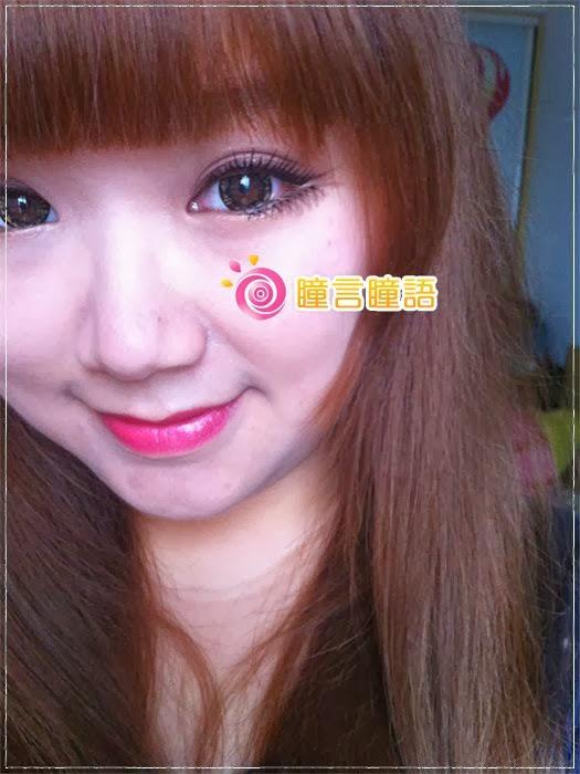 韓國GEO隱形眼鏡-芭比愛七彩鑽石咖14