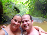 Self-Portrait At The Hot Pools - Roseau, Dominica