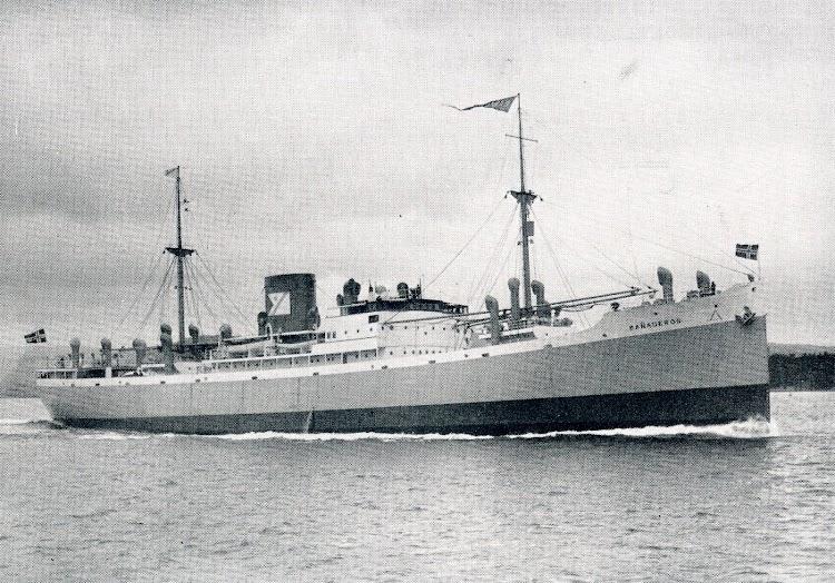 El BAÑADEROS. Foto de la revista THE MOTOR SHIP. Julio de 1930.JPG