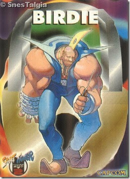 Birdie-Card Street Fighter Zero 2