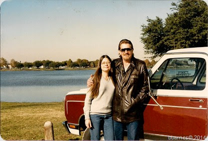 Karen and Dee Nov 23 1984 Bachman Lake Dallas TX