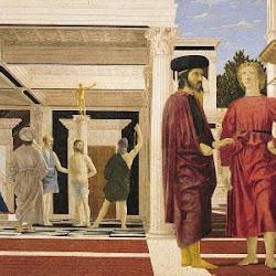 48 - Pietro della Francesca - Flagelación de Cristo