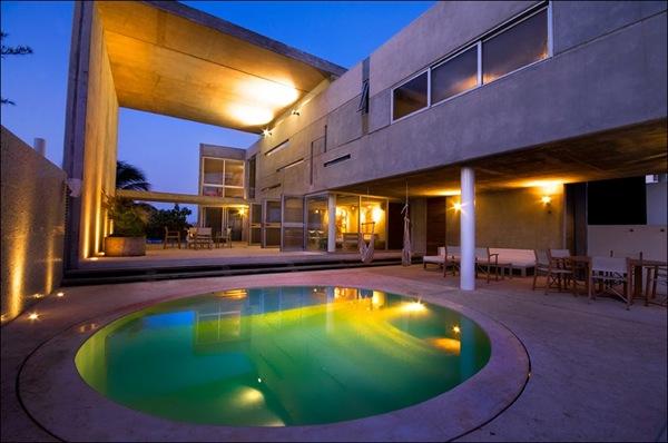 diseño casa de lujo mexico