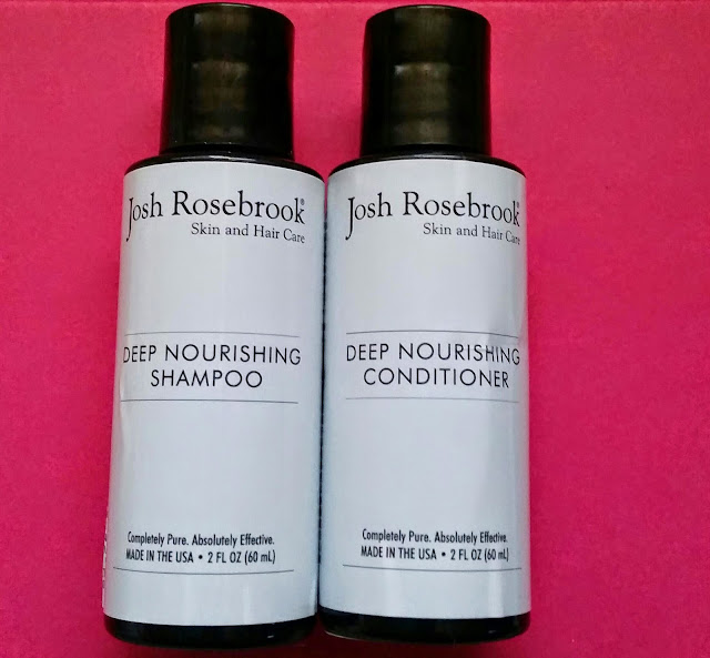 Josh Rosebrook Deep Nourishing Shampoo and Conditioner