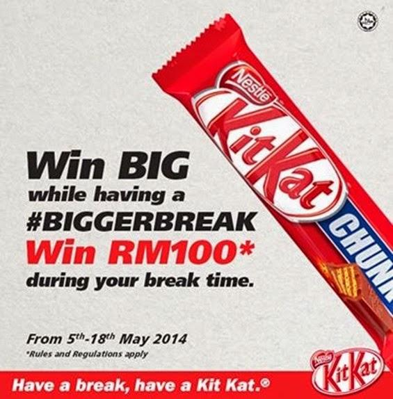 Kit Kat Malaysia Cruncy