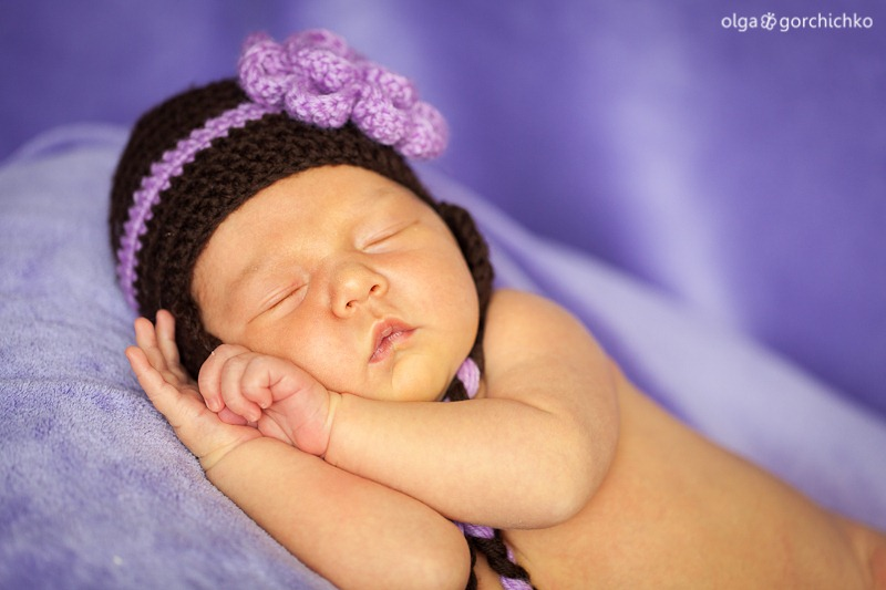 Фотосессия новорожденной Наташеньки (14 дней)