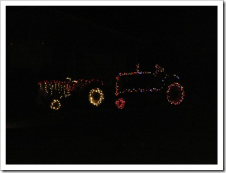 Decorated tractors